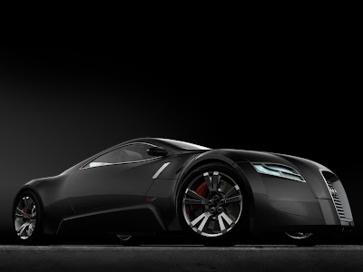 Cool Cars The Black Collection New Sport Car - Black cool cars