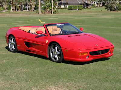 Ferrari 355 F1. 1997 Ferrari 355 F1 - Iris