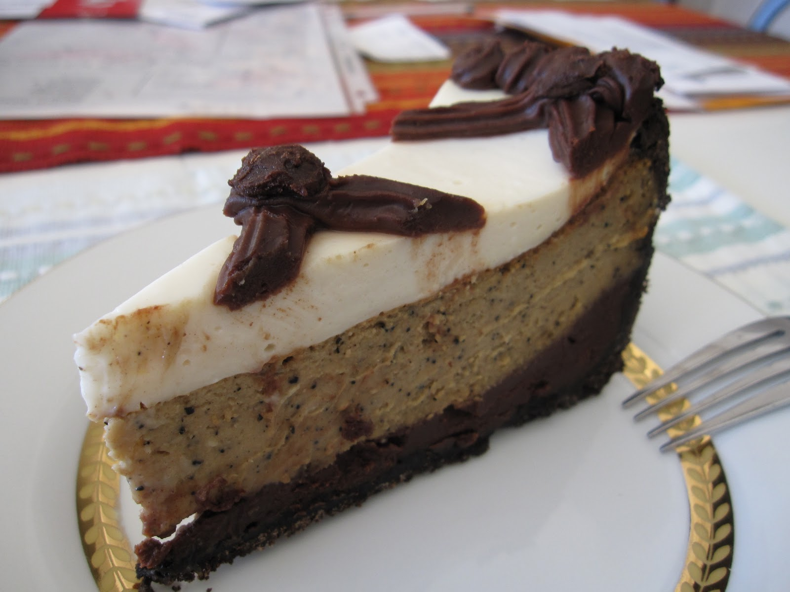 Trial and Error in the 21st Century: Cappuccino Fudge Cheesecake