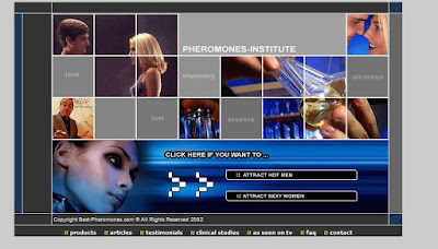 Human Pheromones site
