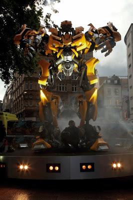 Transformers: Revenge of the Fallen, premiere Londrés