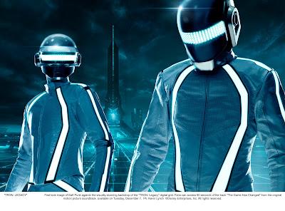 Daft Punk en Tron Legacy
