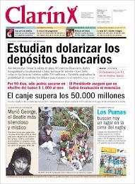 Tapas de Clarín mientras fugaba divisas