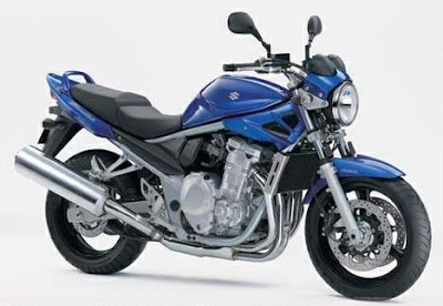 Suzuki Bandit GSF 1250 N Blue Street Fighter 1