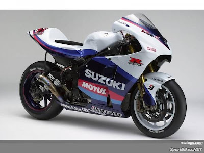 Suzuki GSV R White Racing 2008