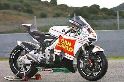 Honda Gresini San Carlo MotoGP4