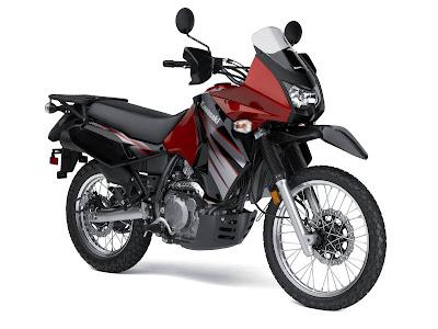 New Kawasaki KLR 650 Motosport 2010