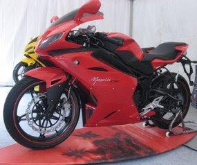 Minerva Megelli Dalamr Red Motosport Bodykit