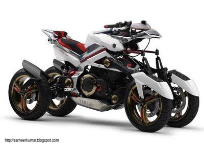Yamaha Tesseract New Motorcycles Concept