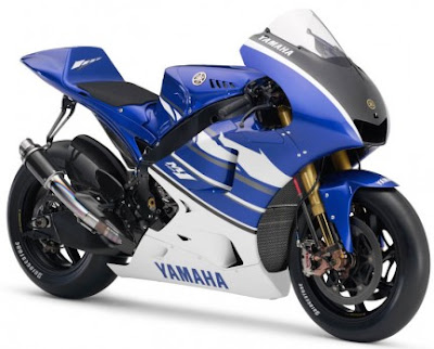 New Yamaha M1 Ben Spies Blue MotoGP Edition