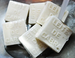 Sabonete de leite de cabra