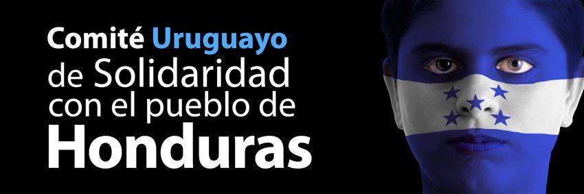 Comité Uruguayo de solidaridad con el pueblo de Honduras