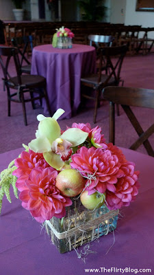 Pretty Green Apple Centerpieces photo 1097780-2