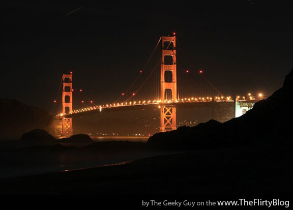 golden gate bridge at night wallpaper. The Golden Gate Bridge