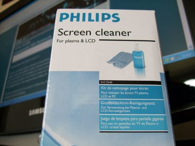 Plasma & LCD TV Screen Cleaner from Phillips (SVC2540/10)