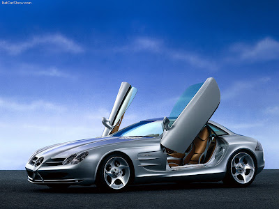 2004 Mercedes Benz Grand Sports Tourer Vision R Concept. 1999 Mercedes-Benz Vision SLR
