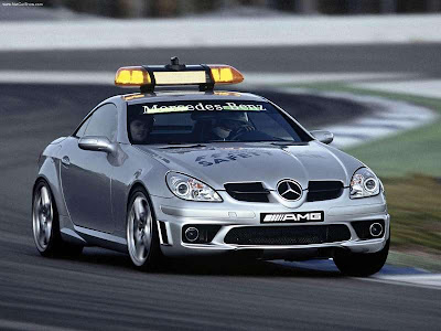 2004 Mercedes-Benz SLK55 AMG F1 Safety Car Wallpapers