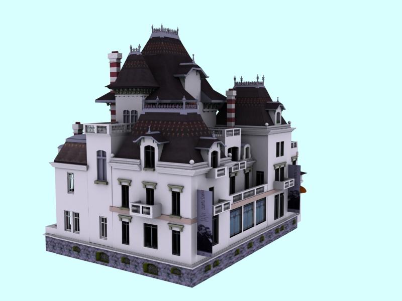 Le ladruncoloblog mod lisation 3d de la maison des fr res for Modelisation maison 3d