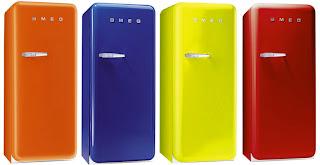 o frigorífico Smeg Fab28 está agora no nosso caminho. Ele vem em todos os tipos de cores, e tem 9,22 metros cúbicos de espaço. Disponível no Reino Unido com gigante de distribuição Union Jack
