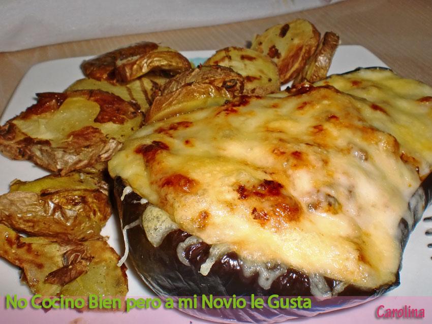 Berenjenas rellenas de carne al horno no cocino bien pero a mi novio le gusta - Berenjenas rellenas al horno ...