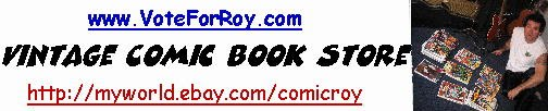 Vintage Comic Book Ebay Store