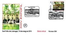 2010. XXIV EXPOFIL a Sant Feliu de Llobregat