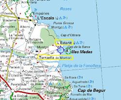 Mapa del Baix Empordà