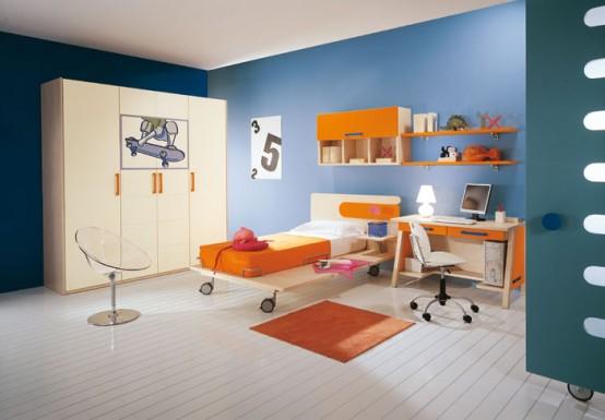 Home interior design 2009 modern kids room decor for Activity room decoration