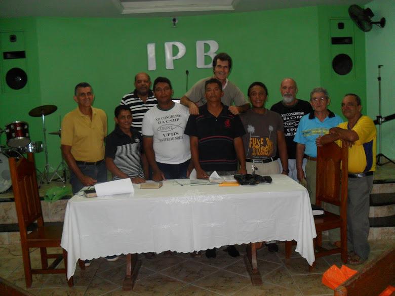 COMISSÃO EXECUTIVA DA UPH IPB EM MARABÁ-PA.
