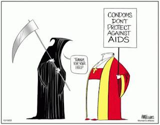 papa contro il preservativo che non risolve il problema