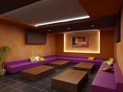 Living Room Karaoke Of Red Square Design July 2009