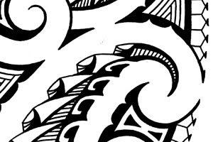 maori tribal tattoo images