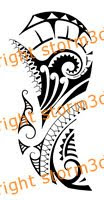 shoulder surf style tribal tattoo