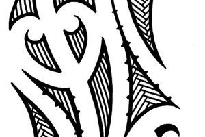 forearm lower arm maori tattoos