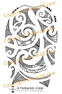 Robbie Williams tattoo design maori for sale