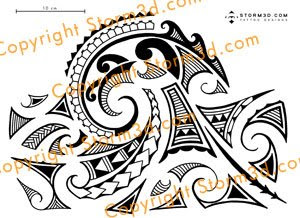Maori inspired tattoo designs and tribal tattoos images: August 2009