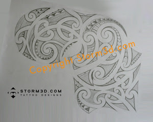 sketch maori tatoo designs