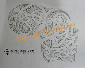 sketch maori tatoo designs