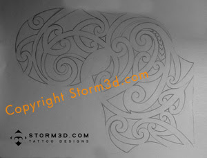 maori style tattoo drawings
