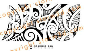 elbow tribal tattoo kirituhi style images designs