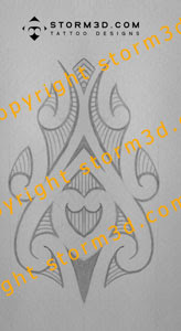maori spine tattoos designer images