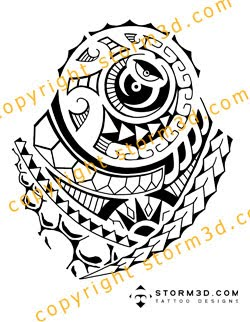 shoulder tattoo designs on Maori inspired tattoo designs and tribal tattoos images: November 2009