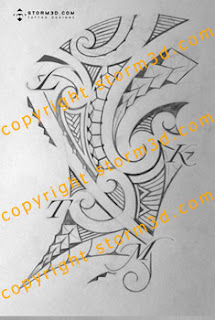 ribcage tattoos maori style design tribal