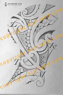 ribcage tattoos maori style design tribal