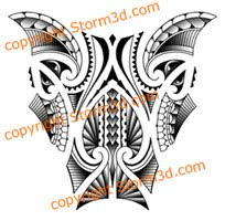 maori lower leg tattoos