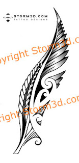 New Zealand silver fern maori images