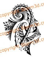 high resolution samoan maori tribal tattoos