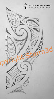maori leg tatoo images side