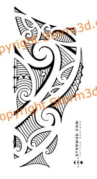 maori inspired tattoo sketch for side of the lower leg que la historia me juzgue. Black Bedroom Furniture Sets. Home Design Ideas