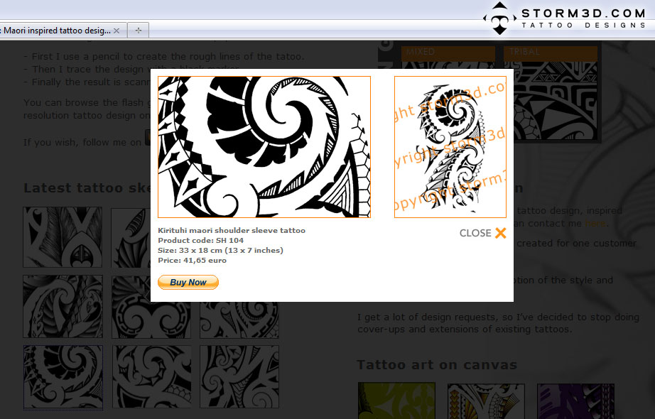 maori inspired tattoo designs and tribal tattoos images january 2011. Black Bedroom Furniture Sets. Home Design Ideas